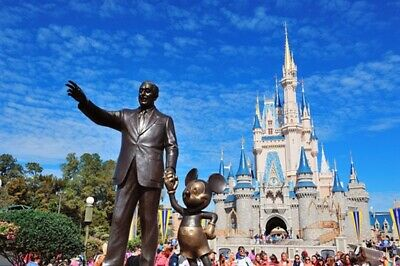 Four (4) Walt Disney World One-Day Park Hopper Passes for Charity - Group 2 of 5
