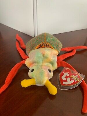 b4862566236 TY BEANIE BABY - SCURRY the Beetle (6.5 inch) MWMT s - Stuffed ...