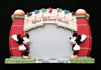 Disney World Picture Frame - Mickey & Minnie Mouse