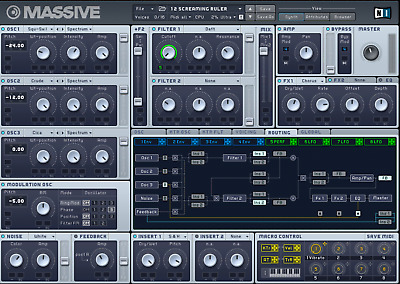 125,000+ Native Instruments MASSIVE VST Sound Patch Largest Library D0wnload
