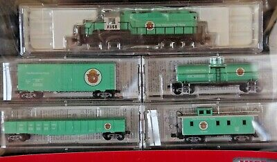 Micro-Trains - N Scale - Fire Prevention Train Set makes ideal present