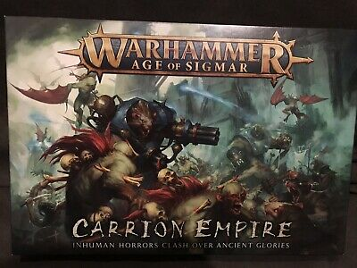 Warhammer Age Of Sigmar Carrion Empire Flesheater Courts Half