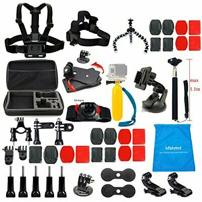 Accessories Starter Kit For Gopro Hero 7/6/Fusion/5/Session 4/3/2/HD Hero
