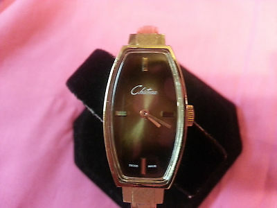 Vintage Chateau ladies swiss made bracelet watch, mechanical hand winding - L20