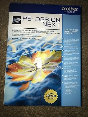 NEW Brother PE Design Next Embroidery Software
