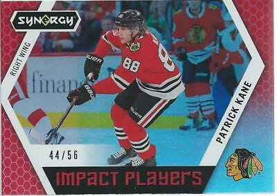 2017-18 Upper Deck Synergy PATRICK KANE Impact Players Red #IP-20 44/56