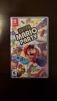 NO GAME Super Mario Party Nintendo Switch EMPTY case box ONLY  NO GAME CARTRIDGE
