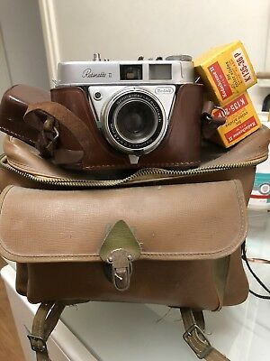 Kodak Retinette Vintage Camera And Accessories
