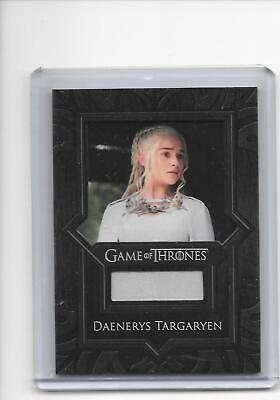Game of Thrones Valyrian Steel Daenerys Targaryen VR4 Dress Costume Relic