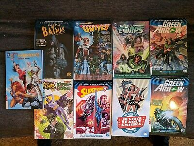 DC Comics lot of GN Trades Graphic Novels Batman Superman Green Arrow USED