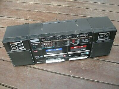 Panasonic Rx-Cw26 Portable Stereo Component System – Cassette Radio Boombox