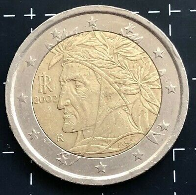 2002 Two 2 Euro Coin