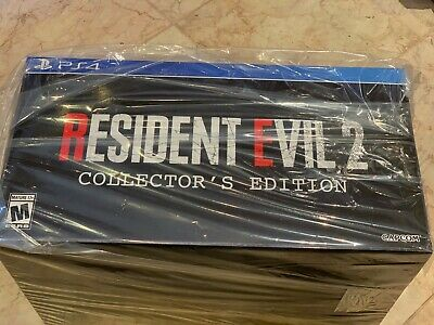Resident Evil 2 Collector's Edition Gamestop Exclusive Sony Playstation 4