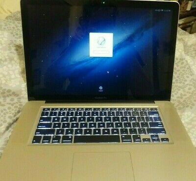 "Apple MacBook Pro 15.4"" Laptop - FD103LL/A, A1286 4GB RAM Mid-2012 WORKS BUT"