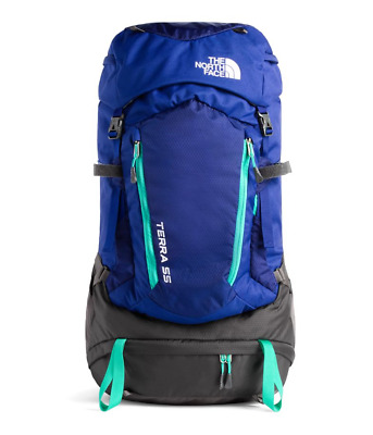 New THE NORTH FACE - Youth Terra 55 Liter Hiking Camping Backcountry  Backpack dac844bbb166