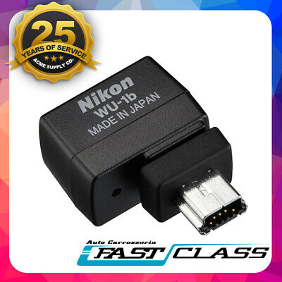 Genuine Nikon WU-1b Wi-Fi Wireless Mobile Adapter Connector D600 D610 J3 V2 S1 A