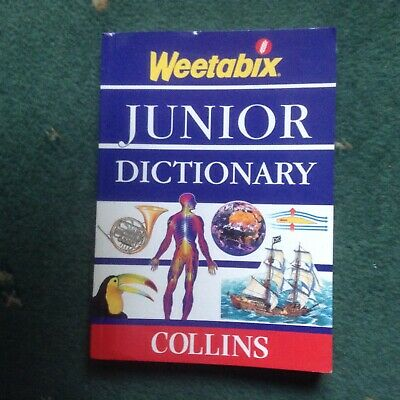 Weetabix Junior Dictionary by Collins - Paperback