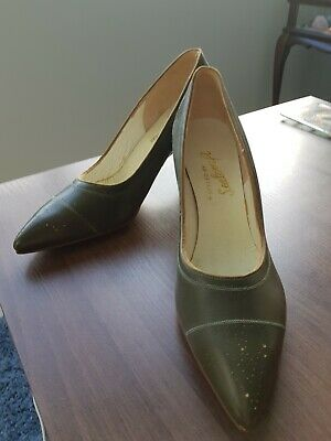 vintage antique Mad Men womens shoes heels 1950s-1960s pumps Styled by Sealcraft