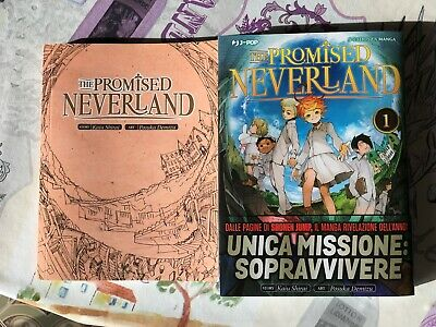 The never promised neverland volume 1 con libretto in edizione limitata  J-Pop