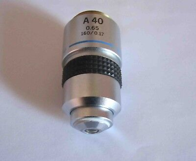 OLYMPUS  Microscope Objective A40  0.65 160/0.17