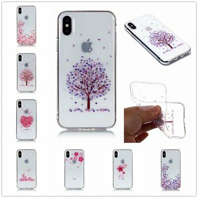 Pink Color Series Transparent TPU Phone Case For Samsung S5 S6 S7 S8 S9 NOTE