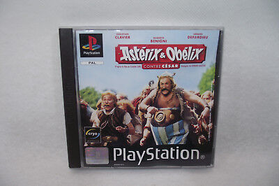 Jeu Playstation 1 PS1 ASTERIX & OBELIX contre César PAL complet + manuel