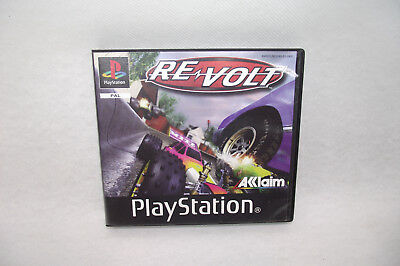 "Jeu Playstation 1 PS1 RE VOLT ""Promo Only"" Acclaim PAL Complet + manuel"