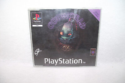 Jeu Playstation 1 PS1 ODD WORLD Démo jouable ABE Oddysée PAL oddworld