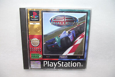 Jeu Playstation 1 PS1 GP CHALLENGE Midas game PAL Complet + manuel
