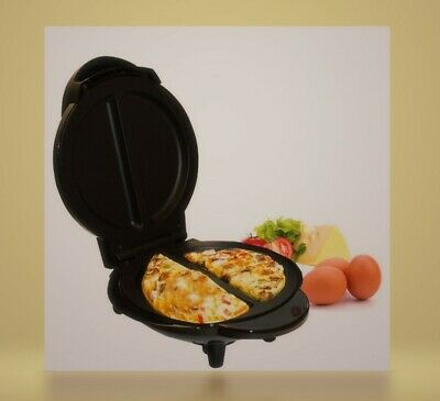 1000W Electric Omelette Maker Making Machine Non Stick Breakfast Cooking