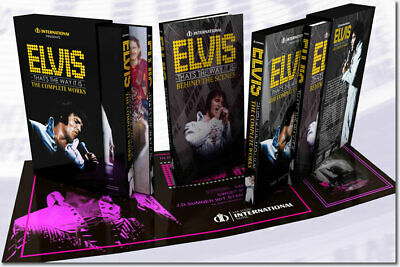 Elvis That's The Way It Is : The Complete Works 6 CD + 3 DVD Set - Like New!