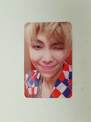 "K-POP BTS Album ""LOVE YOURSELF 結 'Answer'"" Official RM Photocard"