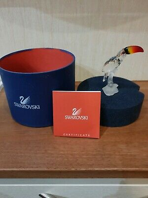 Swarovski - Toucan on a Branch with coloured beak - Boxed -