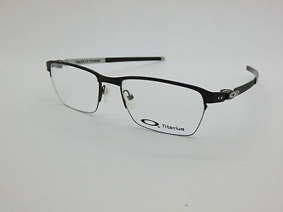 5873ed08b9 NEW OAKLEY TINCUP 0.5 Titanium OX5099-0353 Powder Pewter 53mm Rx Eyeglasses