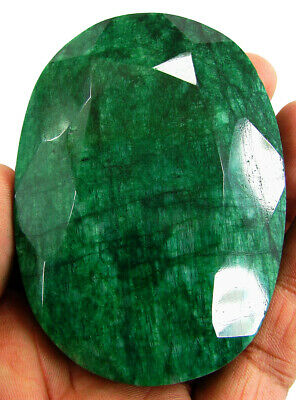 1198.00 Ct Certified Natural Emerald Huge Earth Mined Oval Loose Gemstone-133901