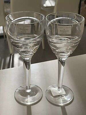 "Jasper Conran Waterford Crystal Aura Large Wine Glass Goblet 10"" Brand New"