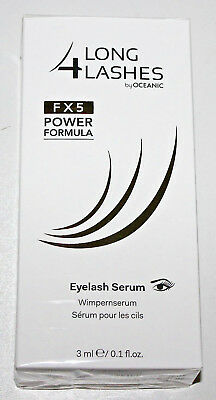 Long4Lashes FX5 Power Formula Wimpernserum 3ml by Oceanic, Wimpernwachstum