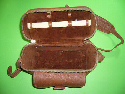 303K01 Kamera Leder Tasche Skorpion Stachel, vintage leather case scorpion sting