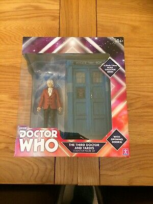Doctor Who Third Doctor And Tardis Set