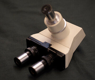 Microscope Trinocular Head (possibly Olympus CH series)