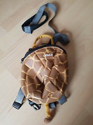 LittleLife / Little Life Giraffe Toddler / Children's Backpack with Rein - used