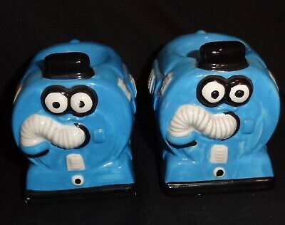 Pair of Teletubbies egg cups
