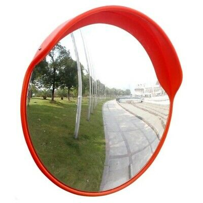 60cm Wide Angle Security Curved Convex Road PC Mirror Traffic Driveway Safety