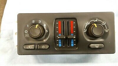 2005 Gmc Sierra 1500 Manual Heater Ac Temperature Climate Control Panel Switch