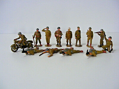 50's REISLER DENMARK Vintage Soldier Collection VERY RARE ITEMS Toy Kunststoff