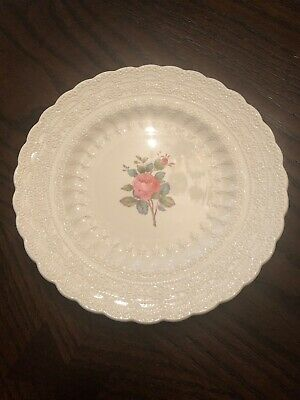 Spode's Jewel Copeland Bread & Butter Plate Billingsley Rose Us Patt 6-15-26