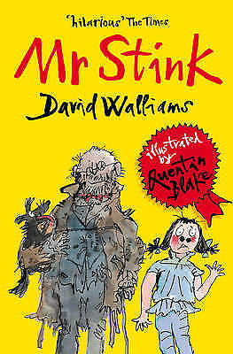 Mr Stink by David Walliams, paperback book, new and never read