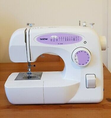 BROTHER  XL 2230  Free Arm White Sewing Machine cover instructions and disc inc