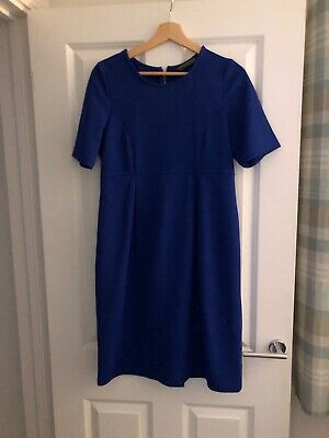 Maternity Dress Size 14 Blue Blooming Marvellous (Mothercare)