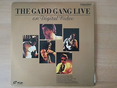 Laserdisc NTSC The Gadd gang live VALZ-2005 Japanese LD live Jazz